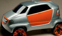 Plastic SUV car