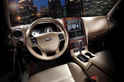2010 Ford Explorer interior