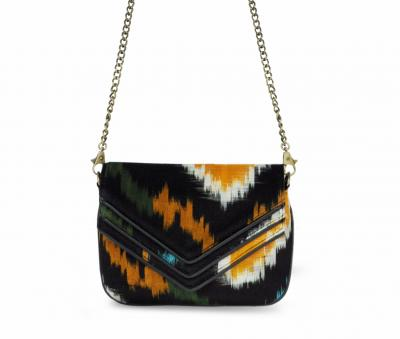 Eco multicolored purse