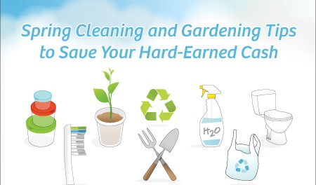 Spring Cleaning Tips Banner