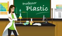 Professor Plastic in the Chemistry Lab