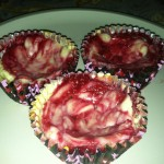 These yummy Raspberry Mini Cheesecakes were prepared using plastic bakeware, tools and gadgets provided by Plastics Make it Possible® Valentine's Day baking project.