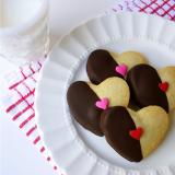 Orange Cardamom Shortbread Sweet-Hearts Cookies Recipe