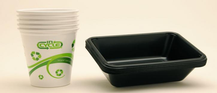 Party cup and tray
