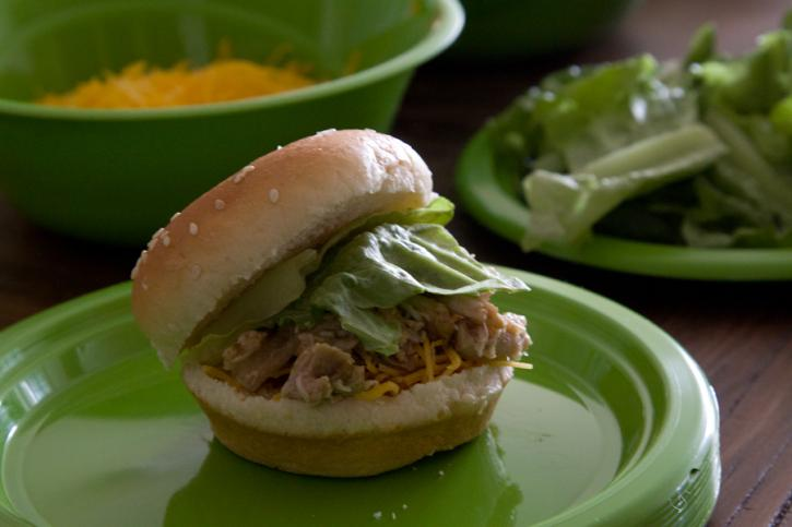 Slow Cooker Chicken Sliders