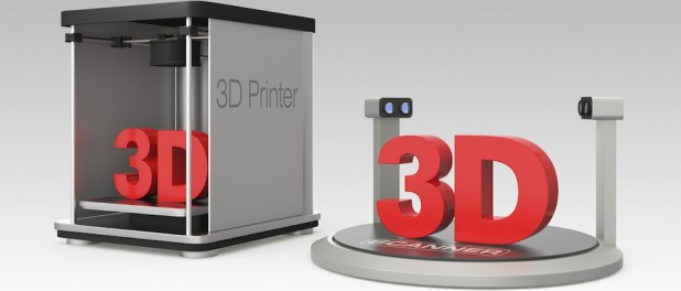 3D printer graphic