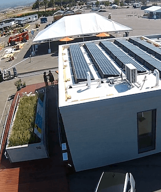 2015 Solar Decathlon VI SURE House Vinyl Roof Membrane