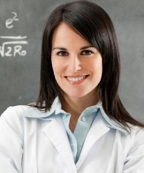 Women in lab coat