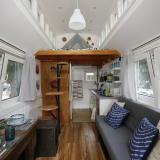 American Chemistry Council Tiny House Build indoors