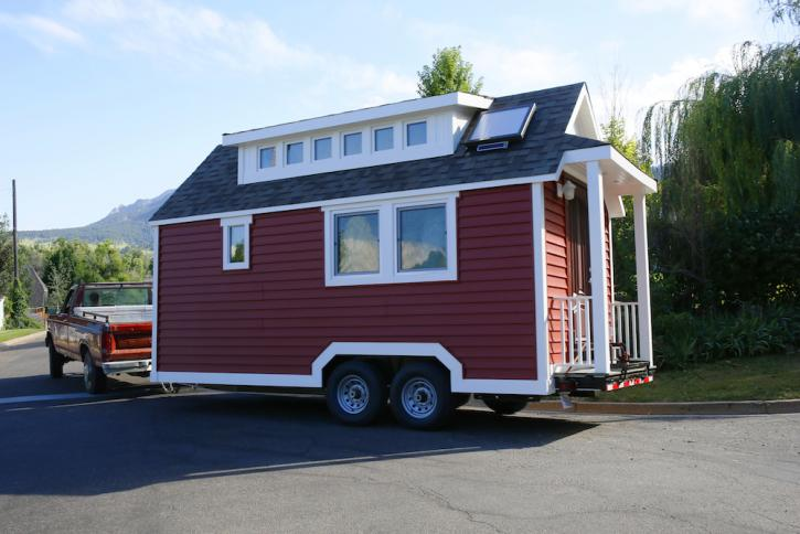 Building a Plastic Tiny House in Colorado Plastics Make It Possible
