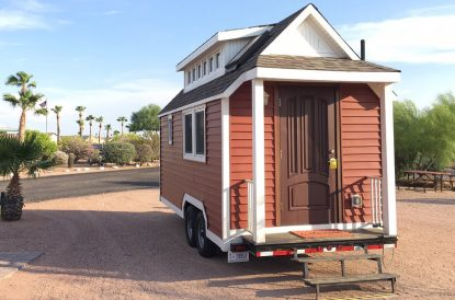 Tiny House Extreme Weather Challenge