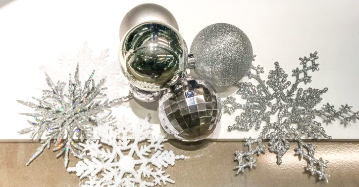 Snowflake and Bauble