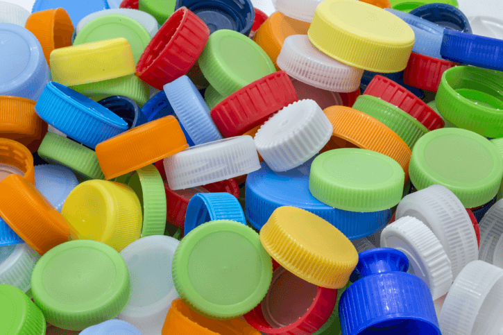 bottle caps, caps and closures