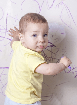 writing on the wall, harold and the purple crayon